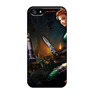 Shock Absorbent Hard Phone Cases For Iphone 5/5s With Provide Private Custom Realistic Rise Against Pattern PhilHolmes
