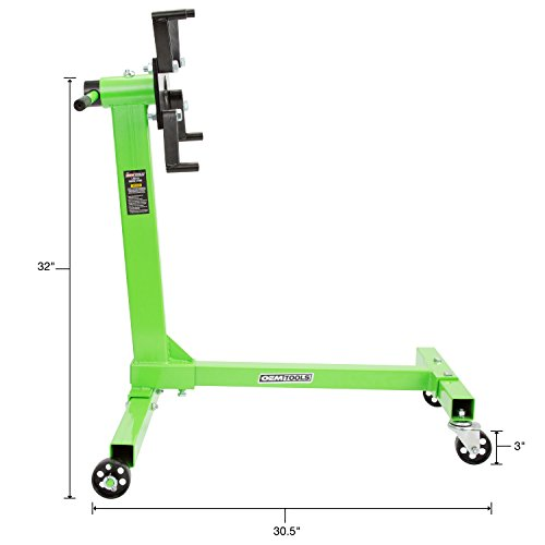 Powerbuilt 647513 Heavy Duty 1000-Pounds H-Frame Engine Stand