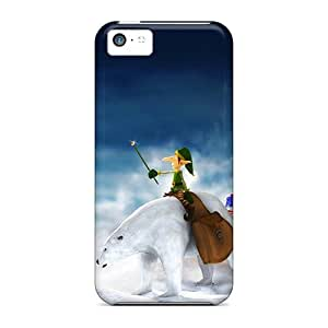 fenglinlinFor iphone 4/4s Protector Cases 2011 Christmas Elfs Gifts Phone Covers