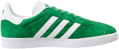 Gazelle Gold Unisex Grün Top Met Green White Low Erwachsene adidas wfpqAC