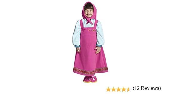 Joker JC053 – 002 – Disfraz Masha y el oso M, multicolor: Amazon ...