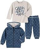 חליפת 3 חלקים קלווין קליין לתינוקות רק 17.46$