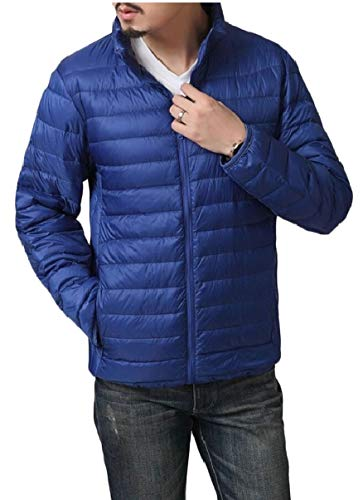 Stand Packable Coat Jackets 1 Collar Men's Lightweight security Down fqTRw7awn