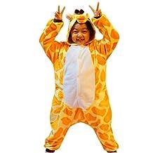 iSZEYU Giraffe Kids Onesie Pajamas Sleepsuit Cosplay Halloween Christmas Costume