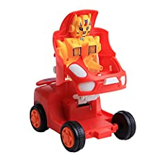Cars Transformers Action Figure Model Robot Toy Transform Pull Back Cars Toys Feature:This car toy set is well made of premium material for durable and practical use. It includes different colorful no battery requaired pull-back and go cars....