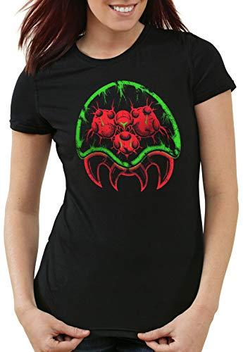 mujeres Switch Morph Aran Hormiga 3ds Samus Snes Camiseta Metroid para IvRwFwzA4q