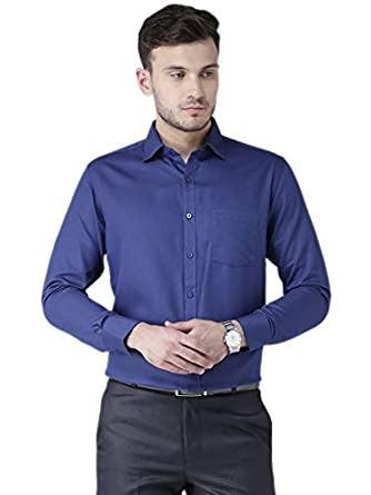 Zeal Men's Regular Fit Formal Shirt