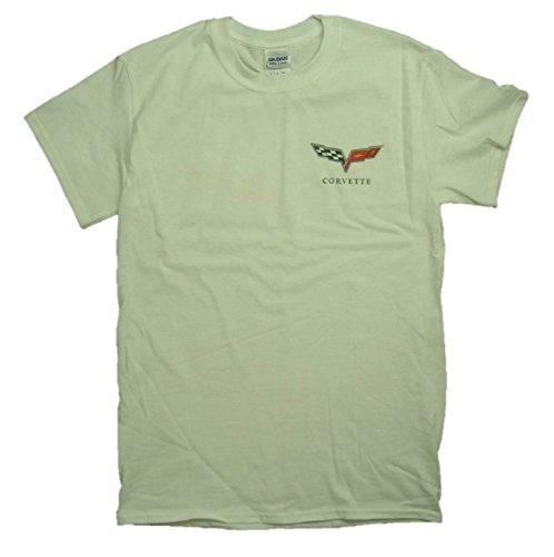 "Joe Blow Men's Chevy Corvette C6 Logo ""BORN IN THE USA"" T-Shirt"