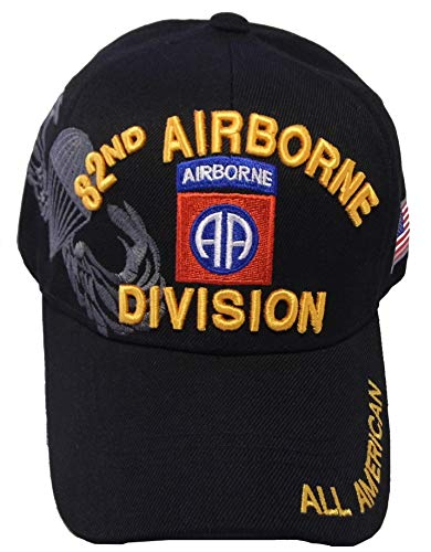US Warriors U.S. Army 82nd Airborne Division One Size Black