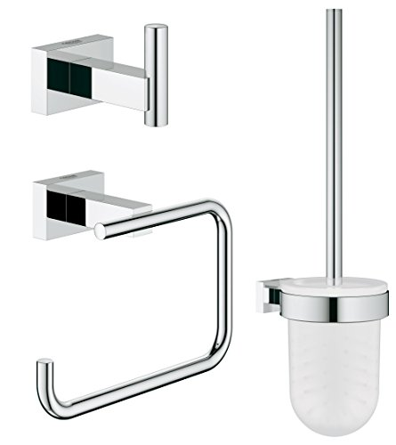 Grohe 40757001  Essentials Cube Accessoire Set 3-in-1