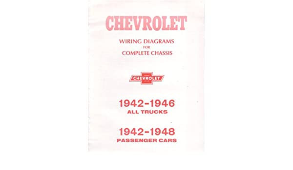 amazon.com: 1942 1946 1948 chevrolet cars trucks wiring diagrams:  everything else  amazon.com