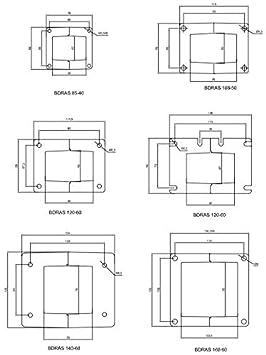 Ventilador Centr/ífugo AC zentrifugalventilator carcasa de aluminio BDRAS-120-60