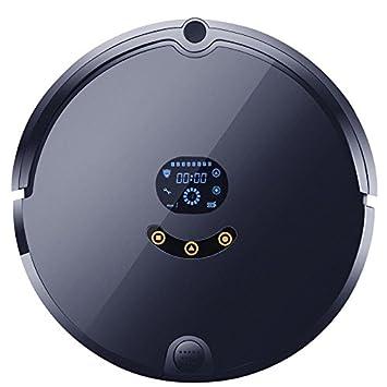 Autocarga Robot Aspirador Con App Control Y Tanque De Agua Y Trapeador 4 Modos De Limpieza