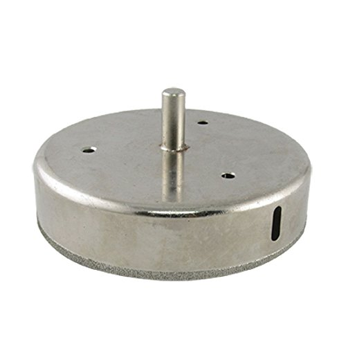 4 Hole Kitchen Faucet Porcelain (NuoStar 4 inch Diamond Drill Bit HoleSaw DIY Kitchen, Bathroom, Shower, Faucet Installation Tiles, Glass, Fish Tanks, Marble, Granite Countertop, Ceramic, Porcelain, Coated Core Bits Hole Saw)