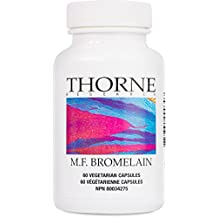 Thorne Research - M.F. Bromelain - Proteolytic Enzyme Mixture from Pineapple - 60 Capsules