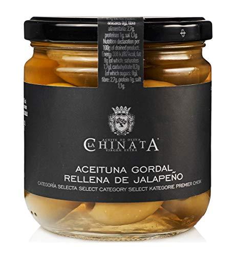 Aceituna Gordal Rellena de Jalapeño – La Chinata (340 g)