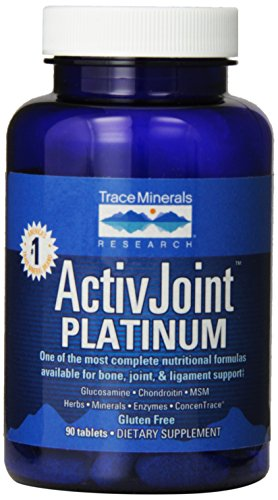 Platinum Glucosamine (Trace Minerals Research Activ Joint Platinum, 90 Tablets)