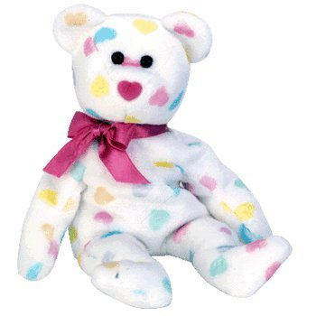 Amazon.com  Ty Beanie Babies Kissme - Valentine s Bear  Toys   Games ffae97ee5a1