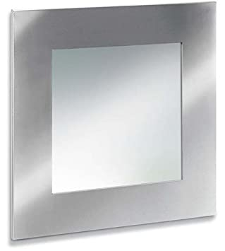 Blomus 68113 Square Stainless Steel Mirror, Silver
