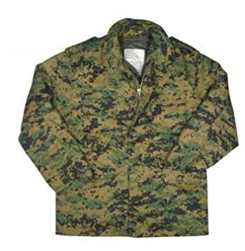 Rothco 8590 Woodland Digital Camo M-65 Field Jacket