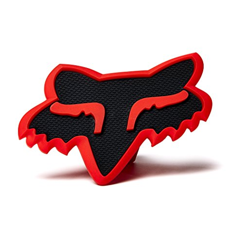 Fox Racing Mens Trailer Hitch Cover Accessories - Black/Red No Size