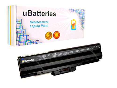 Click to buy UBatteries 72Whr Laptop Battery Sony VAIO VGN-BZ579N04 VGN-SR140E/S VGN-CS108E/R VGN-CS108E/Q VGN-SR190 VGN-SR165N/B - 11.1V, 6600mAh (Black) - From only $62.95