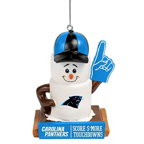 NFL Smores Ornament Carolina Panthers