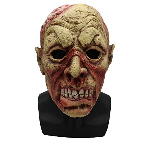 Halloween Mask Adult Terrorist Resident Evil Zombie Corpse Devil Latex Headgear Haunted House -