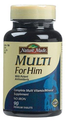 Nature Made Multi For Him Vitamin