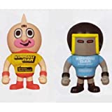 Kinnikuman KINNIKUMAN ~ PansonWorks DX Soft Vinyl Figure 3 whole set of 2