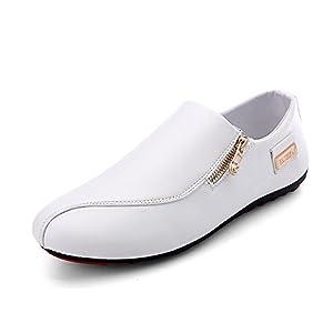 Another Summer Men's Zipper Casual Lightweight Comfortable Loafers