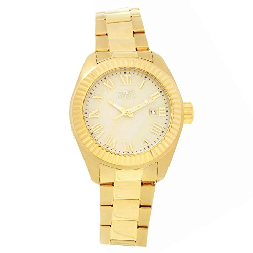 Invicta Women's 20316SYB Angel 18k Gold-Plated Stainless Steel Watch ()