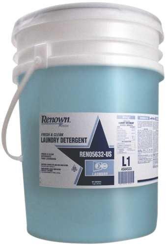 Renown REN05632-US Laundry Detergent Rt Fresh/Clean, 5 gal