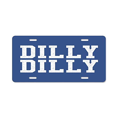 EHAKB American Automobile Plate Frame Covers Dilly Dilly Bud Light Vanity Metal Novelty License Plate Tag Sign ()