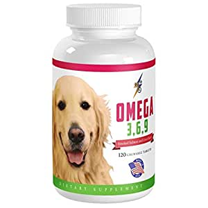 Amazon Com Best Omega 3 6 9 Fish Oil For Dogs 120