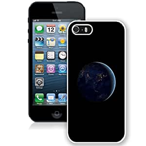 Unique Designed Cover Case For iPhone 5S With Aj Asia At Night Earth Space Dark (2) Phone Case