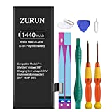 ZURUN 1440mAh High Capacity Li-ion Polymer Replacement 5 Battery Compatible with iPhone 5