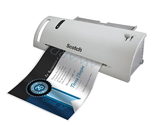 Large Product Image of Scotch Thermal Laminating Pouches, 8.9 x 11.4-Inches, 3 mil thick, 100-Pack (TP3854-100)