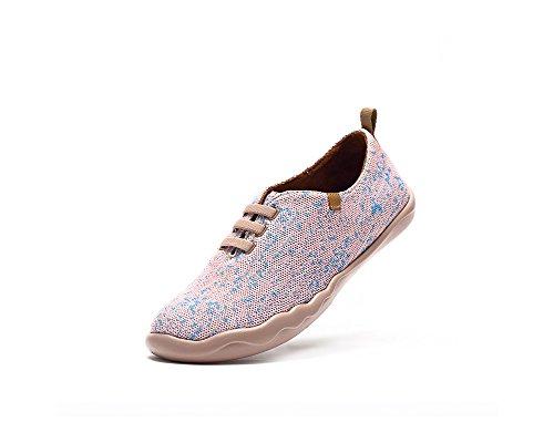 De Légère Rose Voyage Tricot Chaussure Femmes Uin Loafer Des Moguer 5q867zw