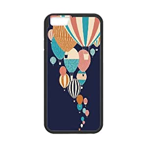 IPhone 6 Case Beautiful Balloons, [Black]