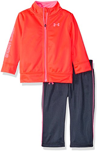 Under Armour Baby' Zip Up Jacket and Pant Set, After Burn, 3