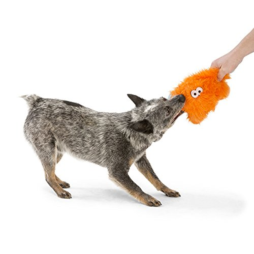 Image of West Paw Rowdies with HardyTex and Zogoflex, Durable Plush Dog Toy for Small Dogs, Fergus, Purple Fur