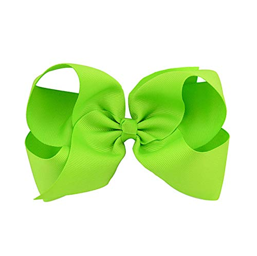 (ATELL Hair Bow Clip for School Girls Baby Girls Butterfly Hair Clips Big Bowknot Hairpin Headdress (B))