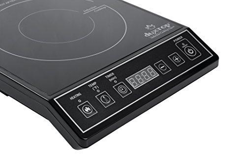 Secura 1800-Watt Portable Induction Cooktop Countertop Burner 9100MC, Black by Secura (Image #3)