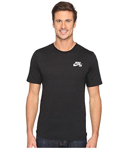 Nike Men's SB Dry Skyline T-Shirt (Black/White, X-Small)