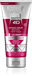 EVELINE COSMETICS SLIM EXTREME 4D INTENSE SERUM REDUCING FATTY TISSUE CELLULITE CREAM