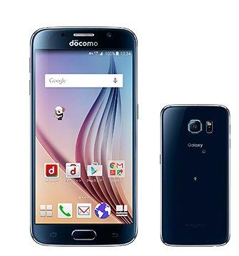 Galaxy S6 SC-05G(ブラックサファイア)