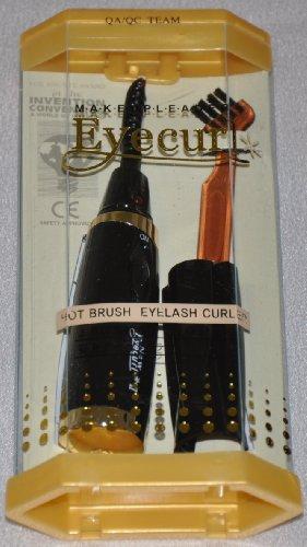 Beauty7 Eyecurl II Electric Heated Eyelash Curler with Brush (White)