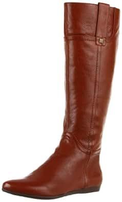 Nine West Women's Watermelon Knee-High Boot,Cognac Leather,11 M US