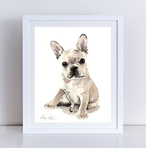 french bulldog canvas - 2